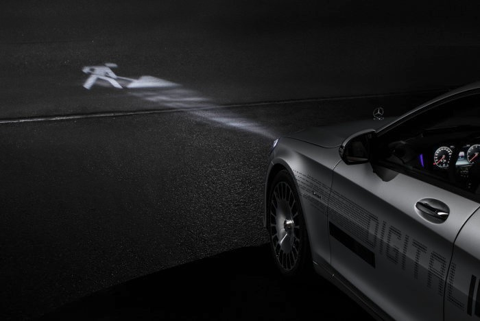 Mercedes-Maybach Digital Light (Bild: Daimler)