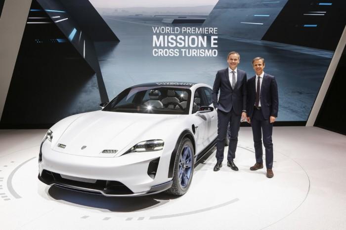 Mission E Cross Turismo: Porsche Macht SUV Zum Sportlichen