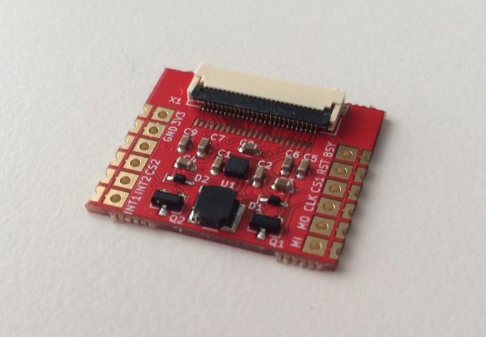 Die Controllerplatine ohne Display (Bild: Paperino)