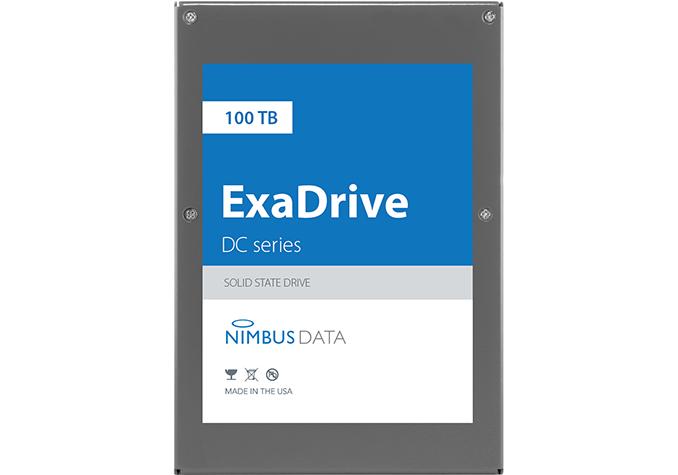 Exadrive DC100: 100-TByte-SSD soll 3,5-Zoll-Festplatten Konkurrenz machen - Exodrive DC100 (Bild: Nimbus Data)