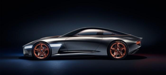 Der Elektrosportwagen Essentia erscheint unter Hyundais Luxusmarke Genesis. (Bild: Hyundai)