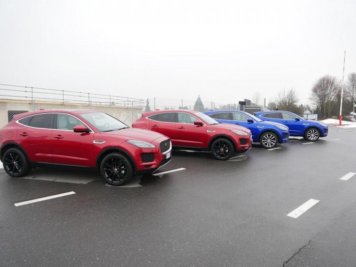 Beginn der Testfahrt mit dem Jaguar I-Pace auf dem Genfer Flughafen (Bild: Dirk Kunde)