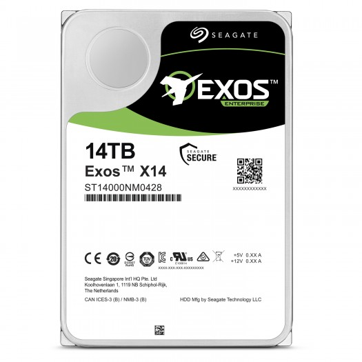 Seagate Exos X14 (Bild: Seagate)
