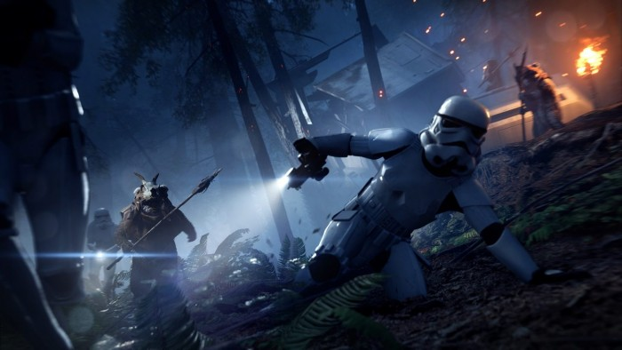 Ewok auf Endor in Star Wars Battlefront 2 (Bild: EA)