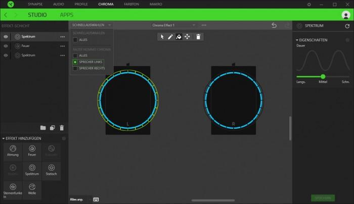 Razer Synapse 3 (Bild: Razer/Screenshot: Golem.de)