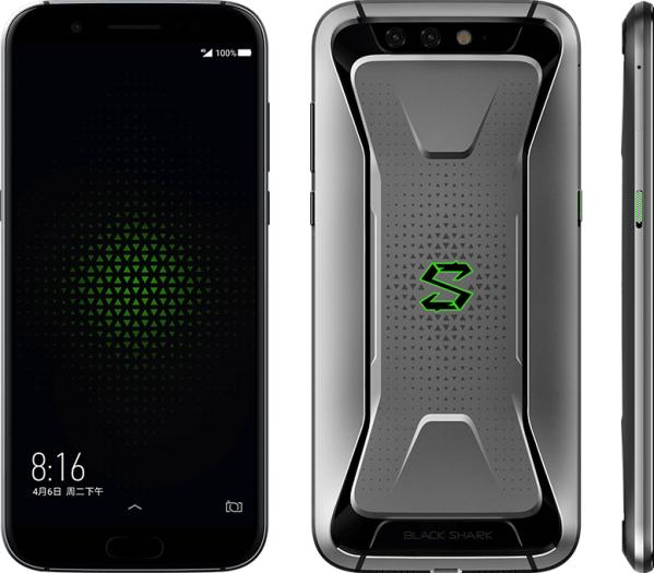 Das Xiaomi Blackshark ist ein Smartphone, das sich explizit an Mobile Gamer richtet. (Bild: Xiaomi)