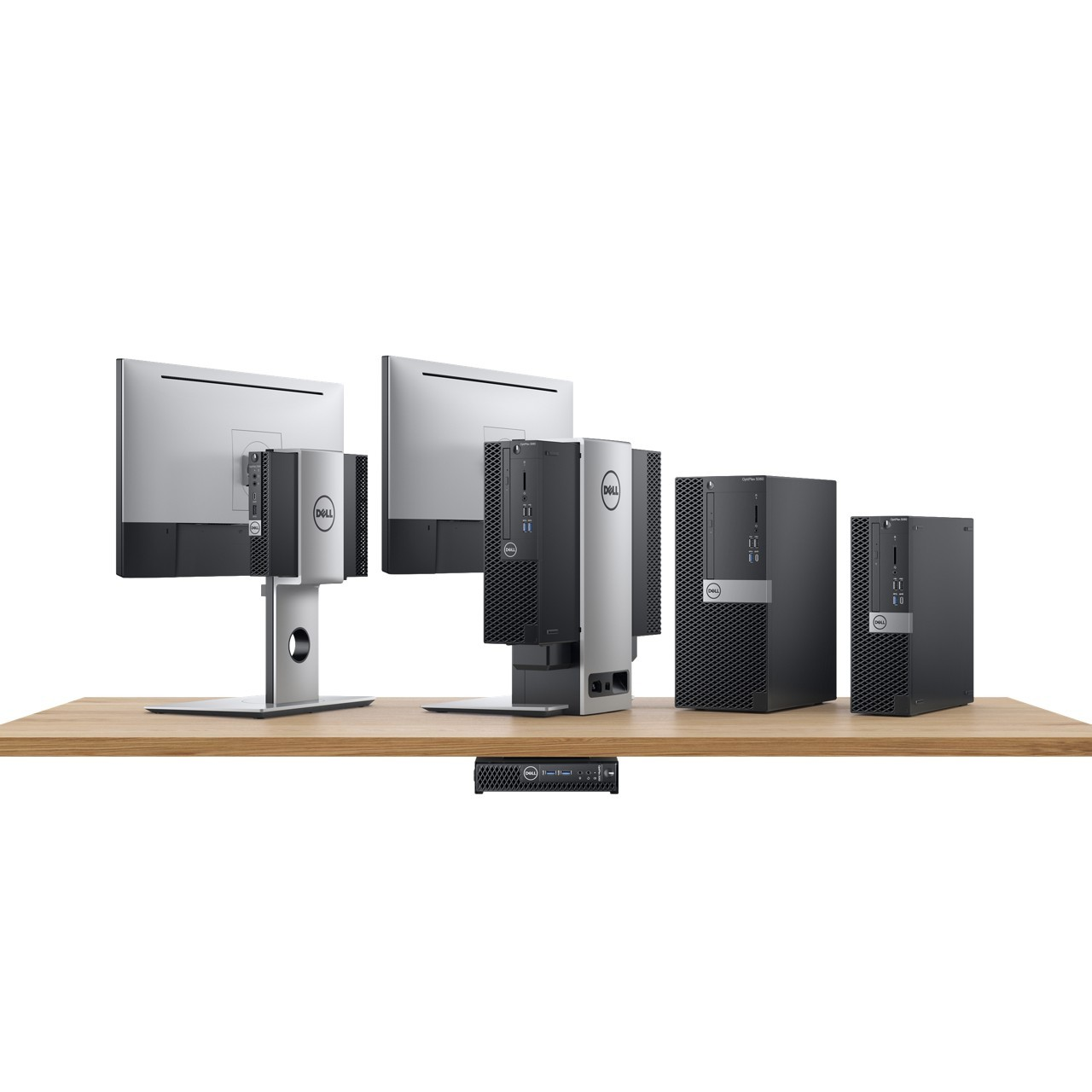 Dell: Neue Optiplex-Systeme in drei Größen und mit Dual-GPUs - Dell Optiplex (Bild: Dell)