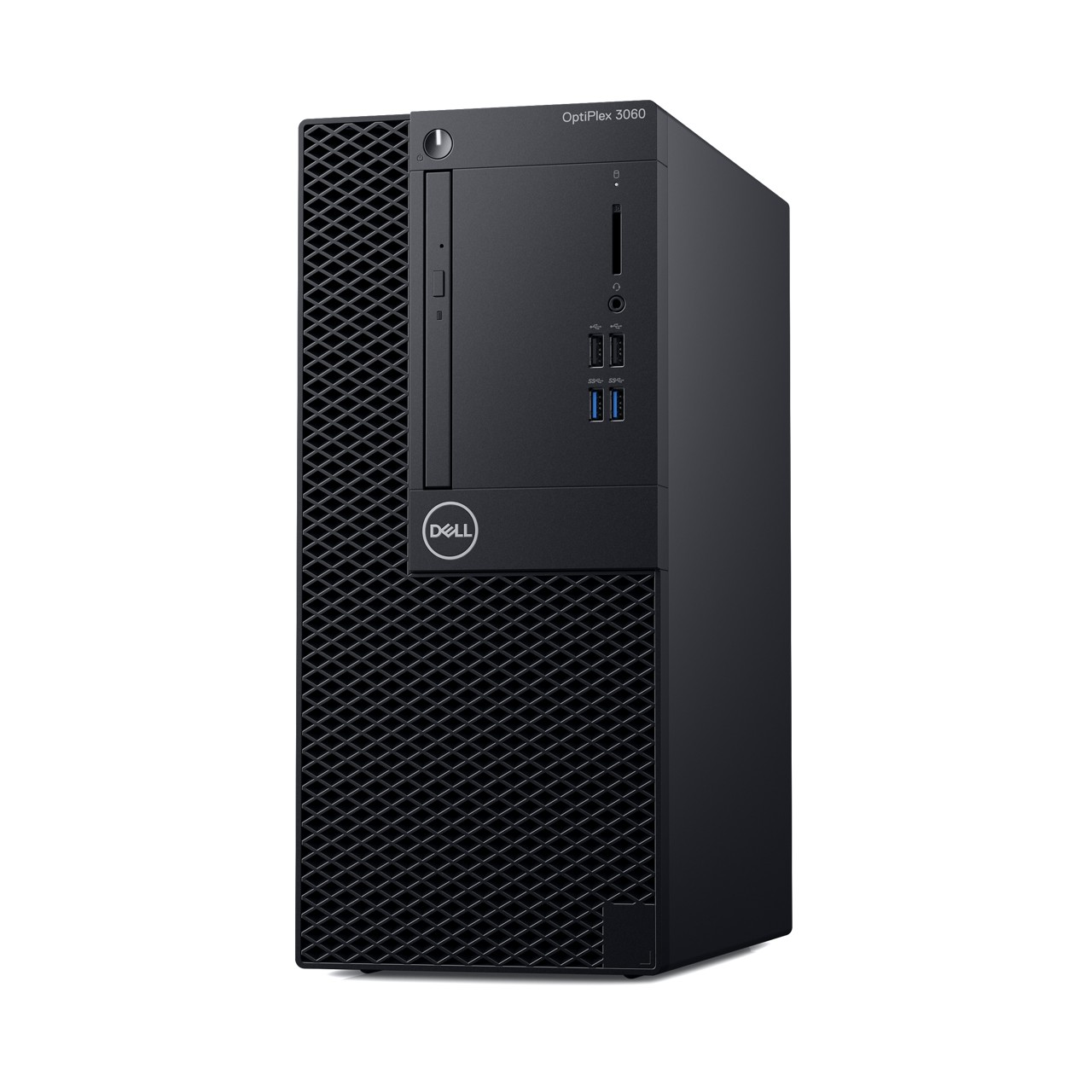 Dell: Neue Optiplex-Systeme in drei Größen und mit Dual-GPUs - Optiplex 3060 Midi-Tower (Bild: Dell)