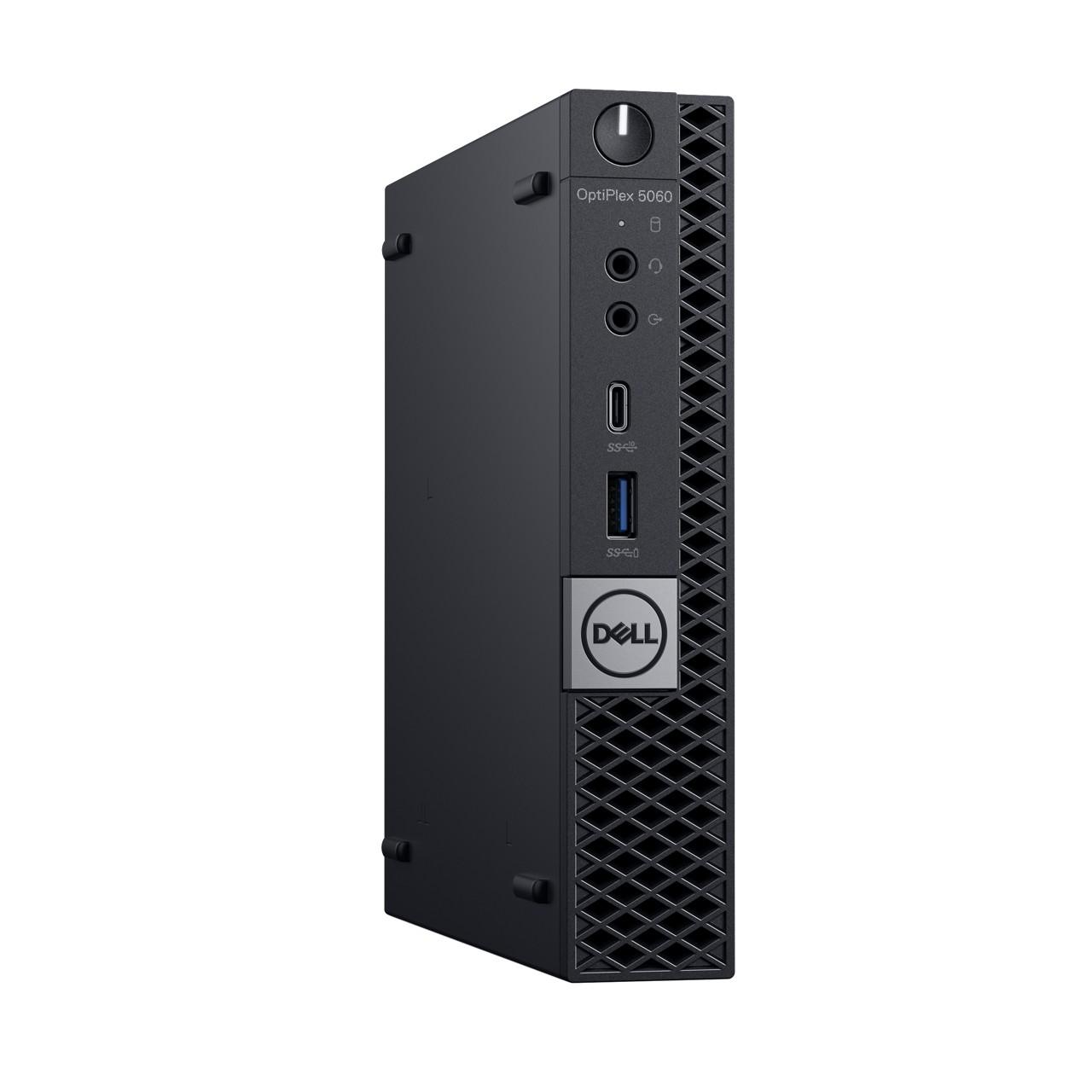 Dell: Neue Optiplex-Systeme in drei Größen und mit Dual-GPUs - Optiplex 5060 Micro (Bild: Dell)