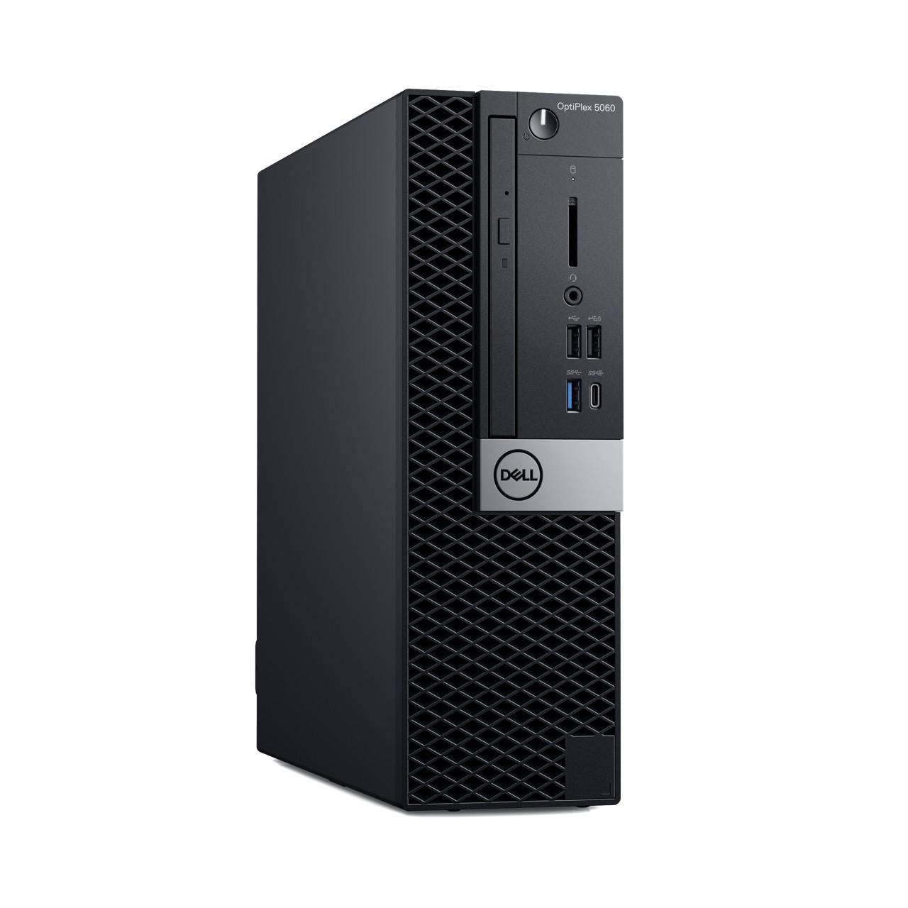 Dell: Neue Optiplex-Systeme in drei Größen und mit Dual-GPUs - Optiplex 5060 Small Form Factor (Bild: Dell)