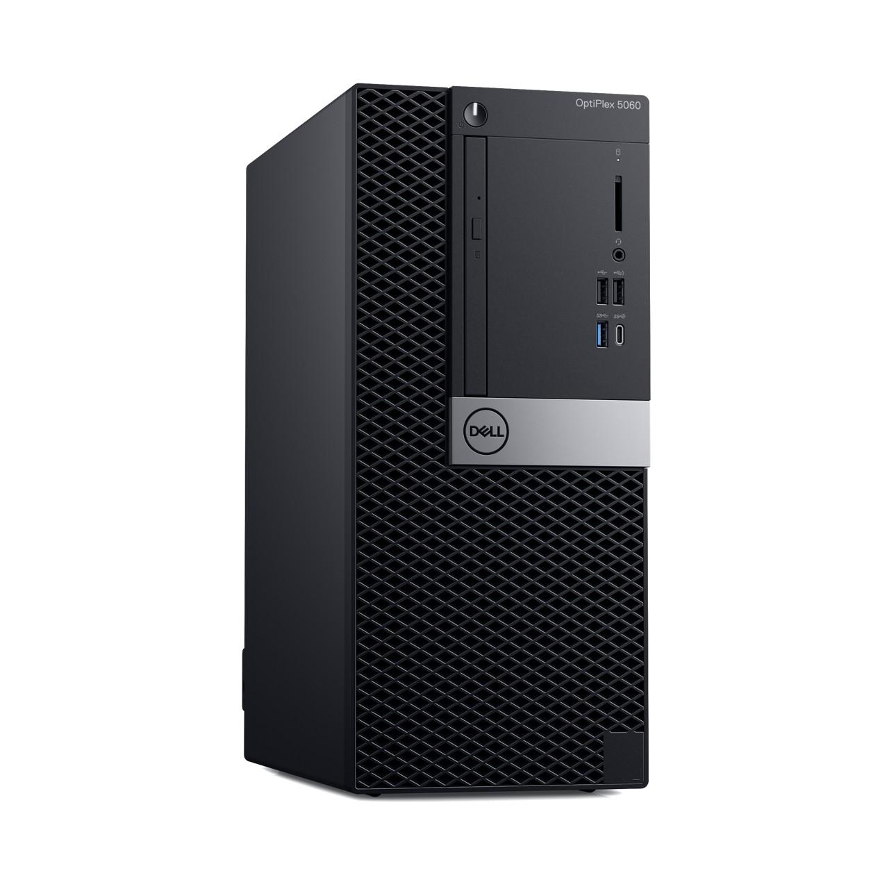 Dell: Neue Optiplex-Systeme in drei Größen und mit Dual-GPUs - Optiplex 5060 Midi-Tower (Bild: Dell)