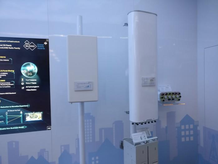 Die neuen 5G-fähigen Antennen beherrschen verschiedene Mobilfunkstandards. (Bild: Alexander Merz/Golem.de)