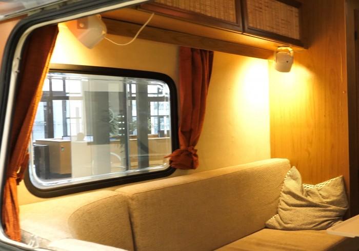 Der Wohnwagen ist Teil des Living IoT-Labs. (Bild: Martin Wolf/Golem.de)