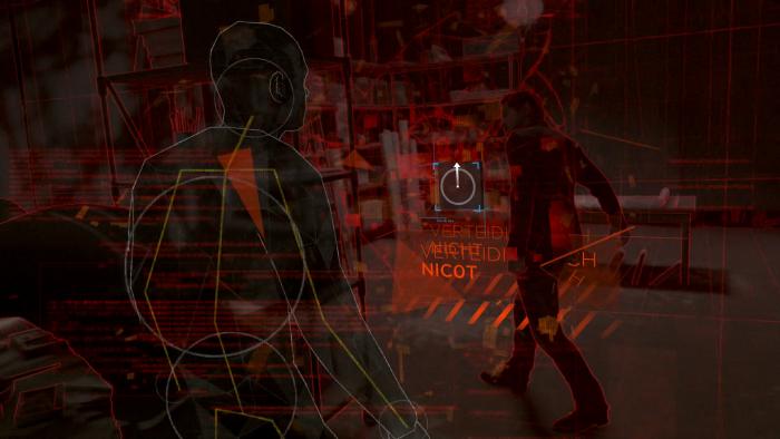 """Mit ein paar Tastendrückern entdeckt ein Android seine """"Seele"""". (Bild: Quantic Dream/Screenshot: Golem.de)"""