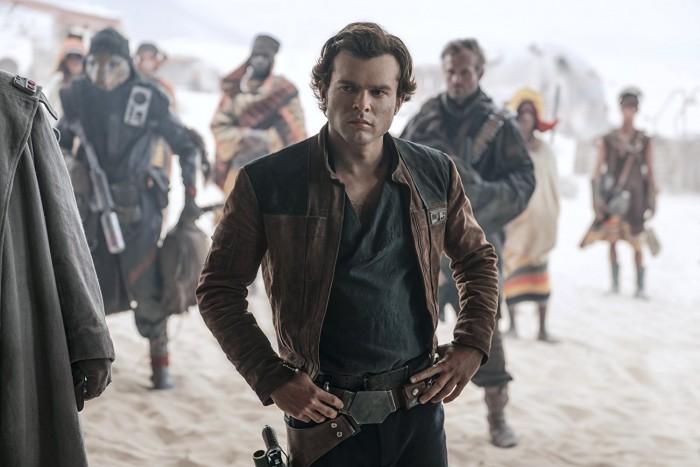 Ohne den Filmtitel wäre Han Solo hier nicht eindeutig erkennbar gewesen. (Bild: Disney/Lucasfilm)
