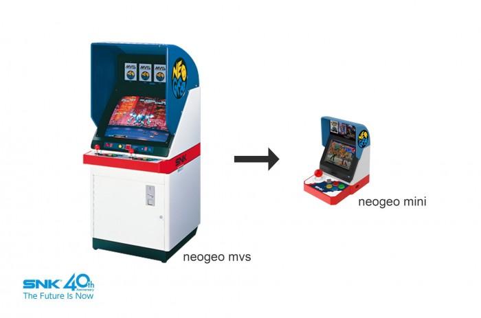 Die für Japan gedachte Version des Neo Geo Mini. (Bild: SNK)