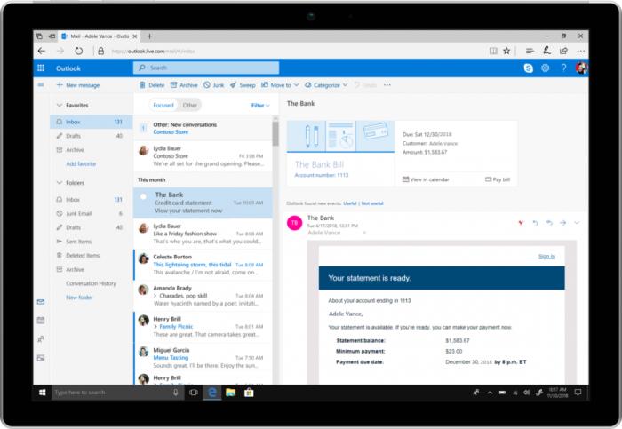 Rechnungen als Termin anlegen (Bild: Microsoft)