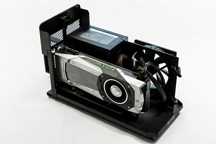 Razer Core X (Bild: Marc Sauter/Golem.de)
