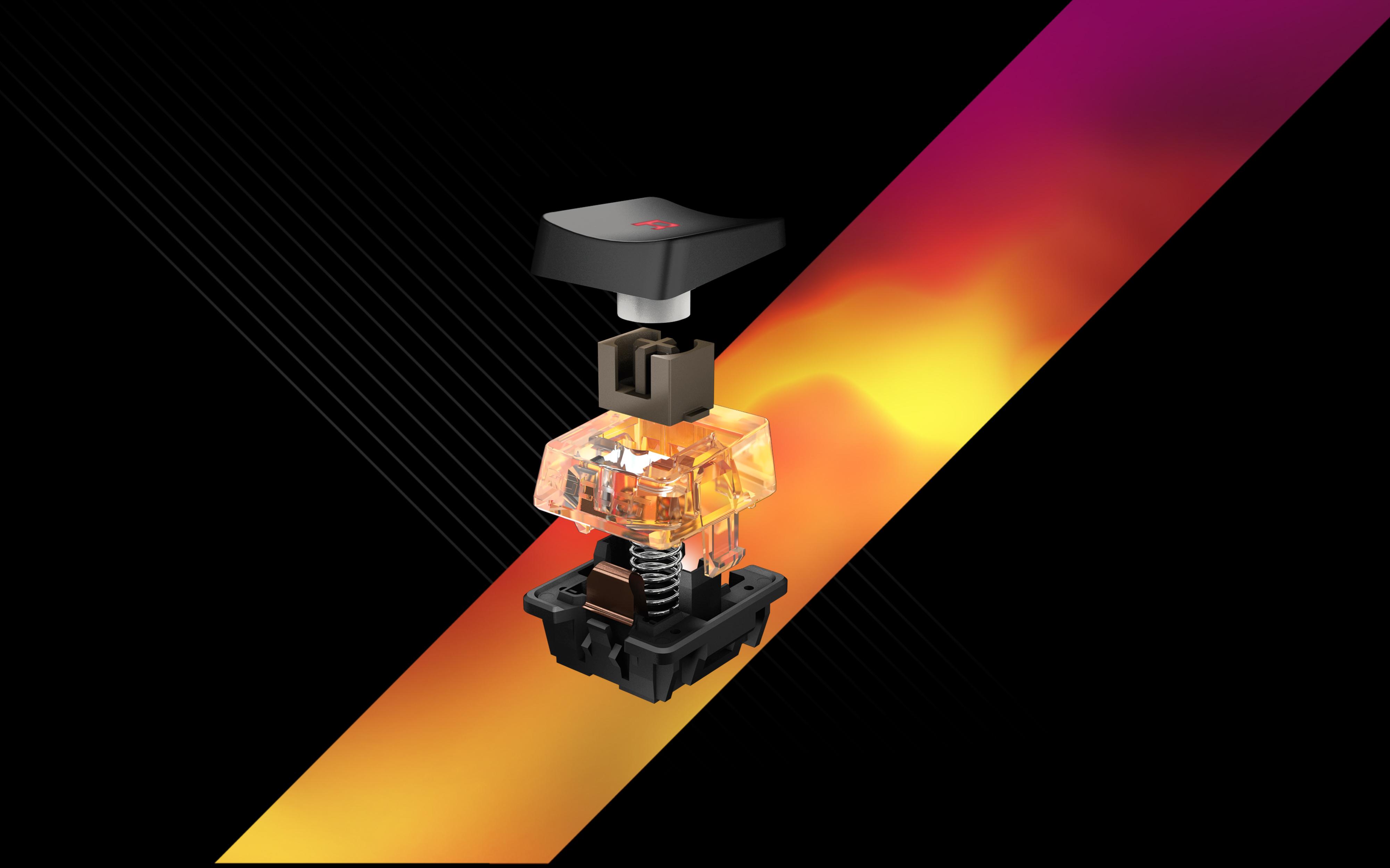 Titan Switch Tactile: Roccat präsentiert mechanischen Tastaturschalter - Der Titan Switch Tactile im Detail (Bild: Roccat)