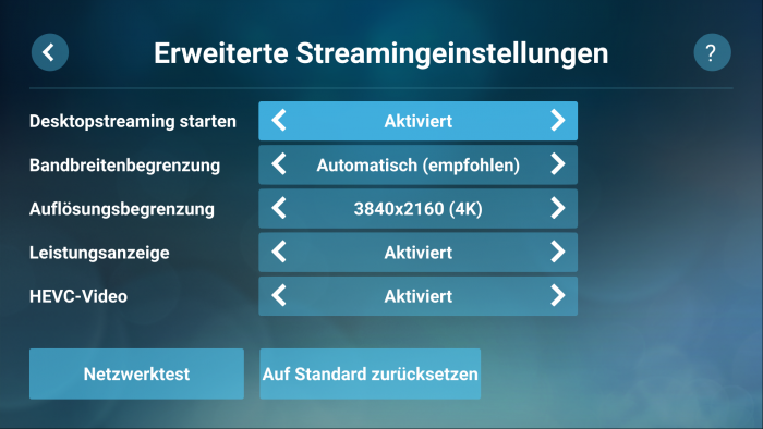 Steam Link App (Bild: Valve/Screenshot: Golem.de)