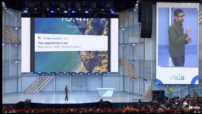 Google Asssistant kann Anrufe tätigen. (Bild: Google/Screenshot: Golem.de)