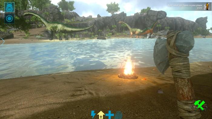 Ark Survival Evolved für Mobile (Bild: War Drum Studios/Screenshot: Golem.de)