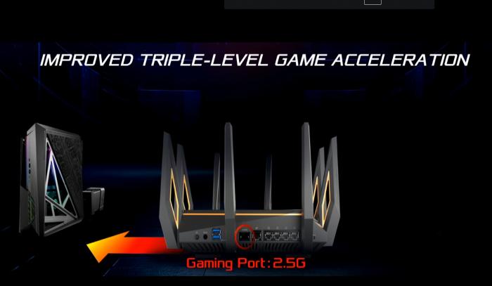 Asus ROG GT-AX11000 (Bild: Asus/Screenshot: Golem.de)