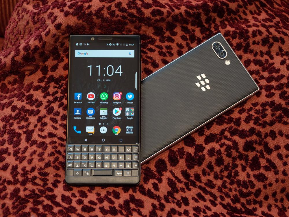 Blackberry Key2 im Hands On: Smartphone bringt verbesserte Tastatur und eine Dual-Kamera - Blackberry Key 2 (Bild: Martin Wolf/Golem.de)