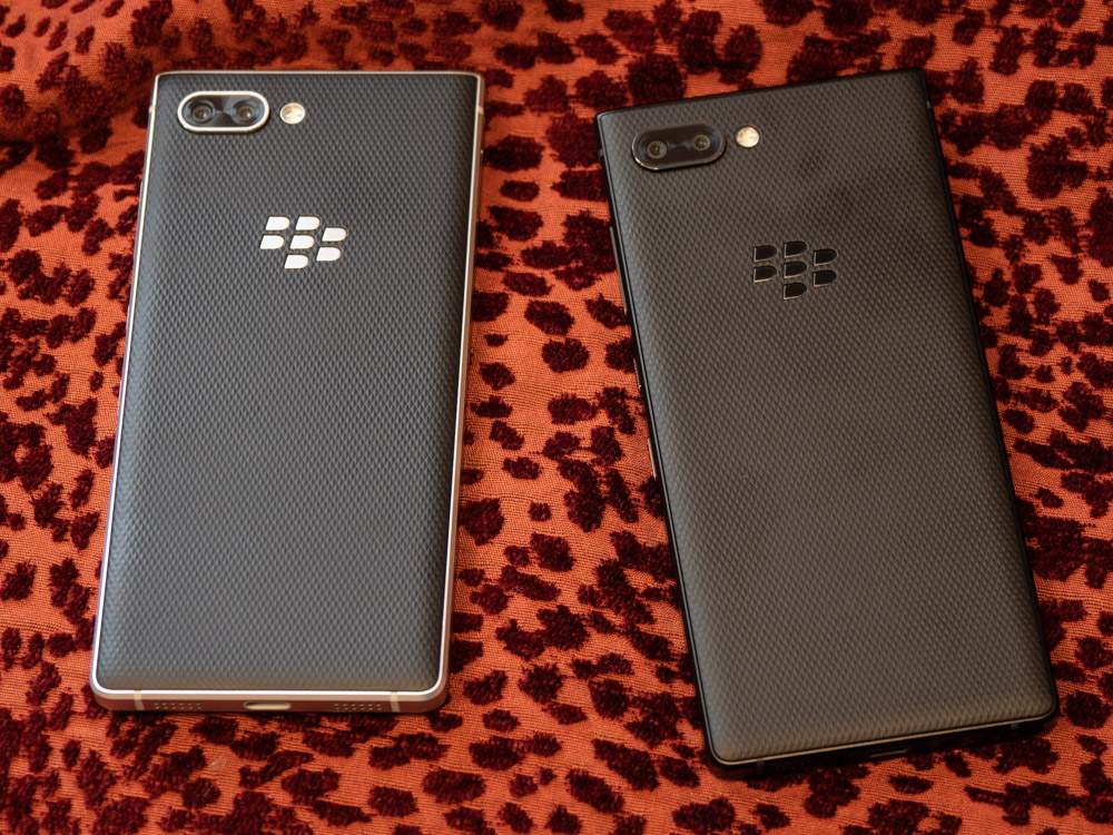 Blackberry Key2 im Hands On: Smartphone bringt verbesserte Tastatur und eine Dual-Kamera -