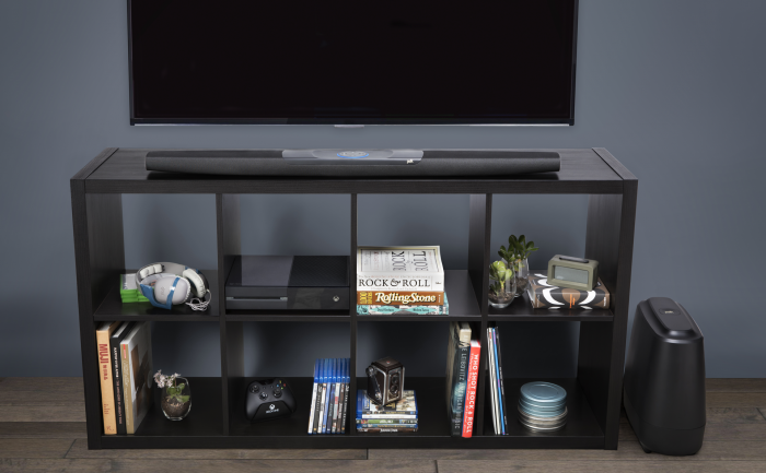 Command Bar mit Subwoofer (Bild: Polk)