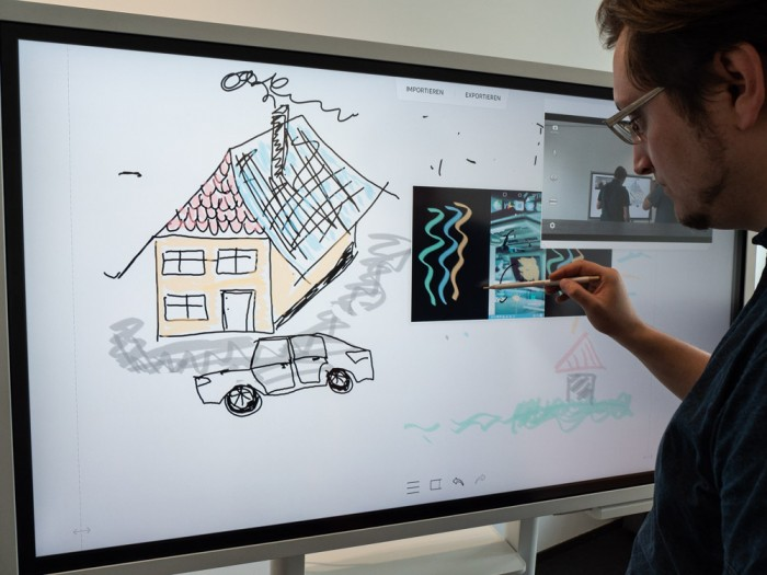 Von gestreamten Bildern können Screenshots erstellt werden. (Bild: Martin Wolf/Golem.de)