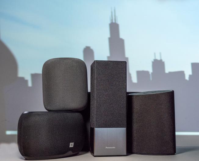 Die fünf Lautsprecher aus diesem Test (Bild: Martin Wolf/Golem.de)