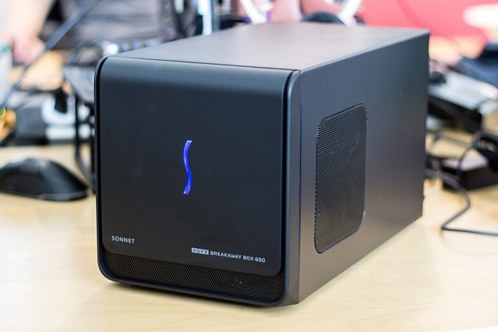 Sonnet eGFX Breakaway Box mit 650 Watt (Bild: Martin Wolf/Golem.de)