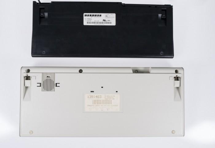 Die Tastatur von Unicomp ist in einem kleineren Gehäuse untergebracht, das qualitativ etwas hinter dem des Enhanced Keyboards zurücksteht. (Bild: Christoph Böschow/Golem.de)