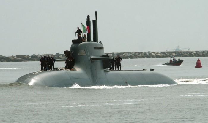 Damit hat es angefangen: Brennstoffzellen-U-Boot von HDW im Einsatz bei der italienischen Marine. (Bild: US Navy)
