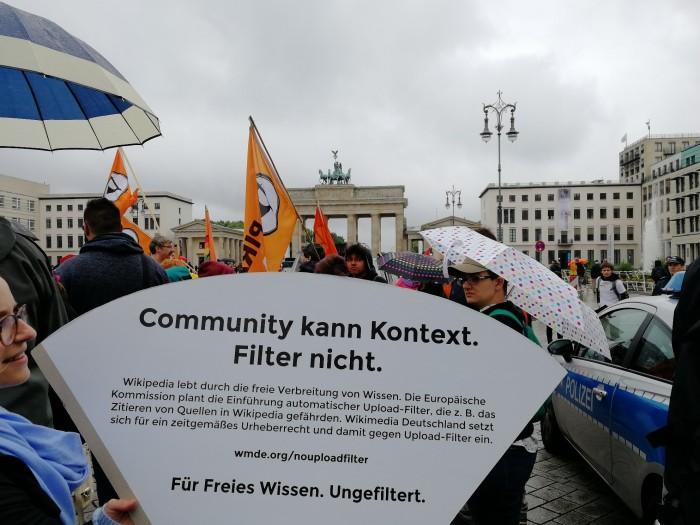 Die Wikipedia-Community warnt vor automatischen Uploadfiltern. (Bild: Friedhelm Greis/Golem.de)