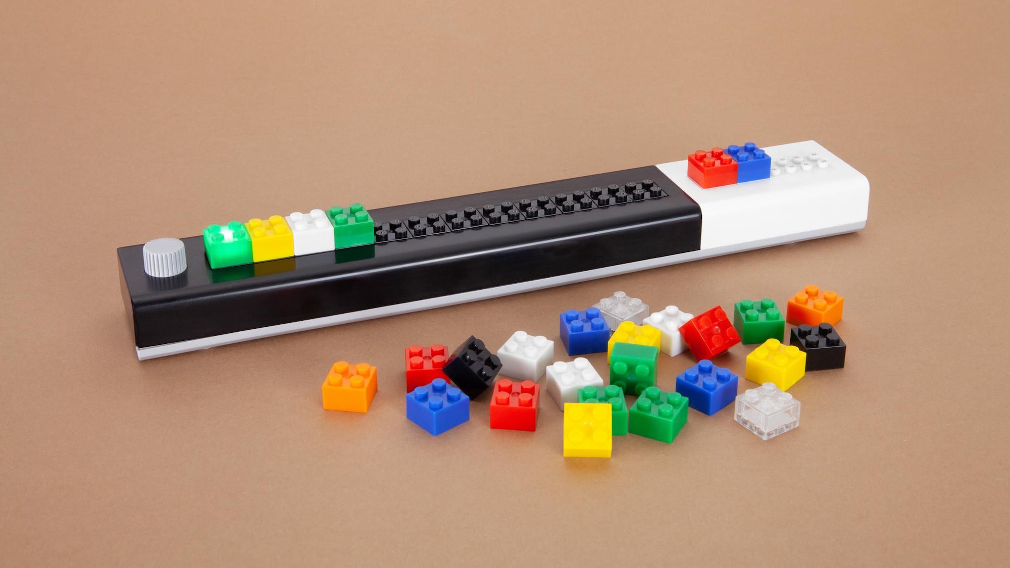 Tinkerbots Lomo: Programmieren lernen mit der IDE aus Lego-Steinen - Die Kommandoleiste (Bild: Tinkerbots)