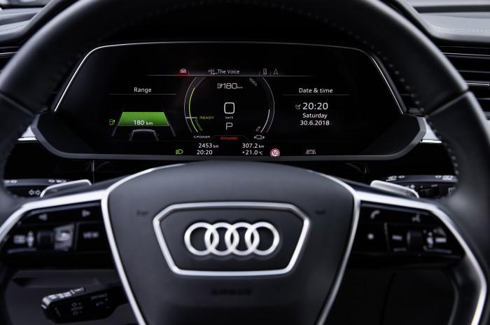 Interieur des Audi E-Tron (Bild: Audi)