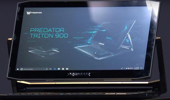 Acer Predator Triton 900 (Bild: Acer)