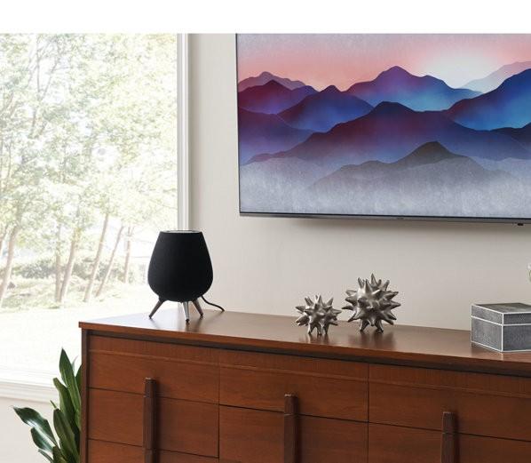 Der smarte Lautsprecher Galaxy Home von Samsung (Bild: Samsung)