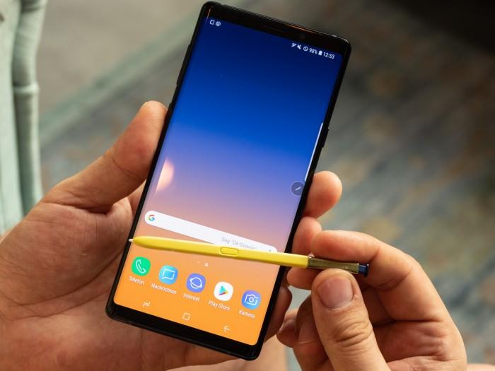 Das neue Galaxy Note 9 von Samsung (Bild: Christoph Böschow/Golem.de)