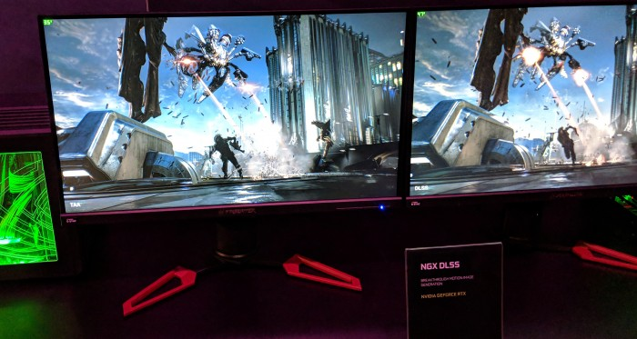 Geforce GTX 1080 Ti gegen Geforce RTX 2080 Ti, 35 fps - 47 fps (Foto: Golem.de)