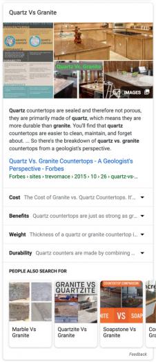 Eine der neuen Erklärungsboxen der Google-Suche. (Bild: Google)