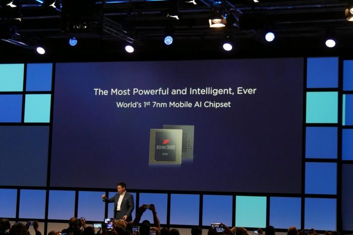 Huawei-Präsentation zum Kirin 980 (Bild: Marc Sauter/Golem.de)
