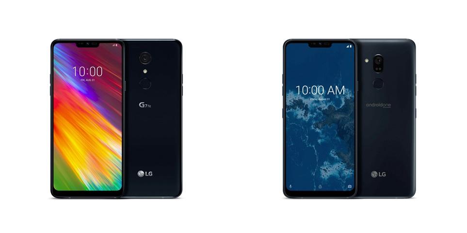 Android: LG bringt G7 mit Android One zur Ifa - Das G7 One und das G7 Fit von LG (Bild: LG)