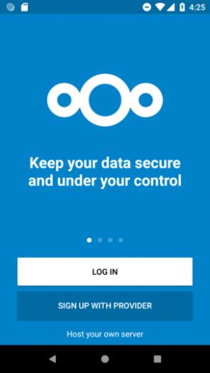 Das neue Simple Signup von Nextcloud (Bild: Nextcloud)