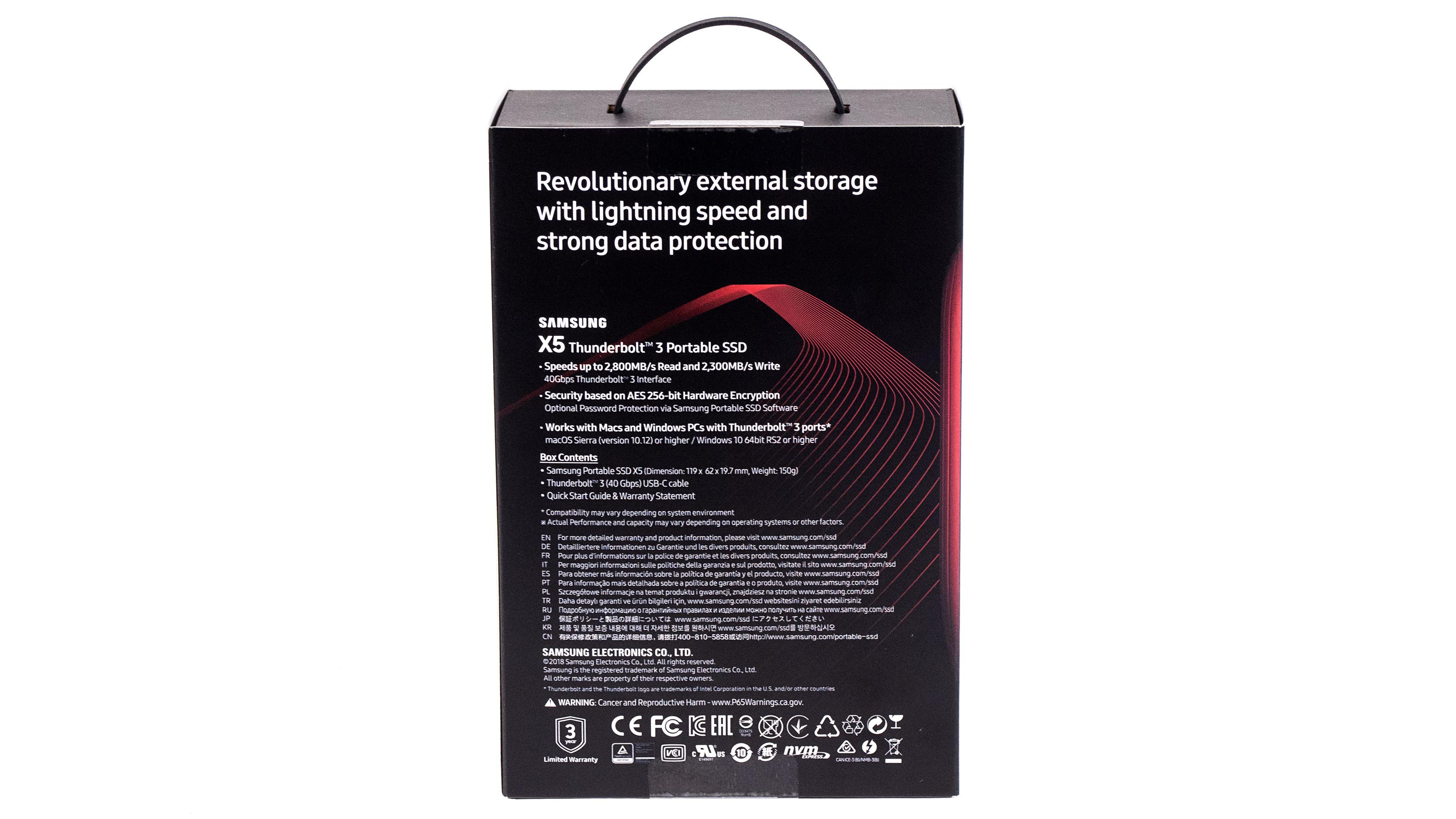 Samsung Portable SSD X5 ausprobiert: Thunderbolt-SSD ist schneller als manche Notebooks -