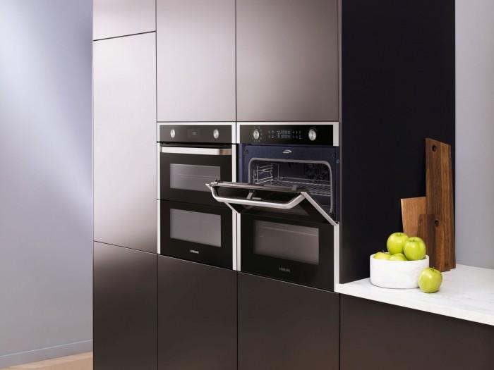 Der neue Ofen Dual Cook Flex (Bild: Samsung)