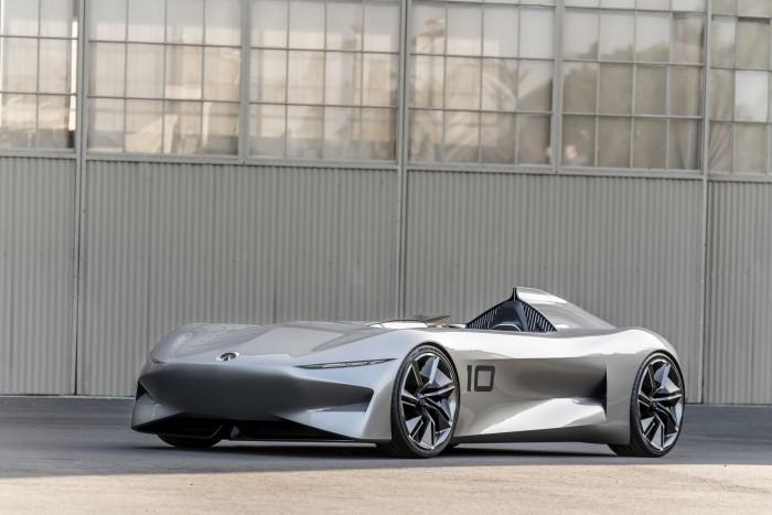 Der Infiniti Prototype 10 ist ein Elektrosportwagen von Nissan. (Bild: Infiniti)