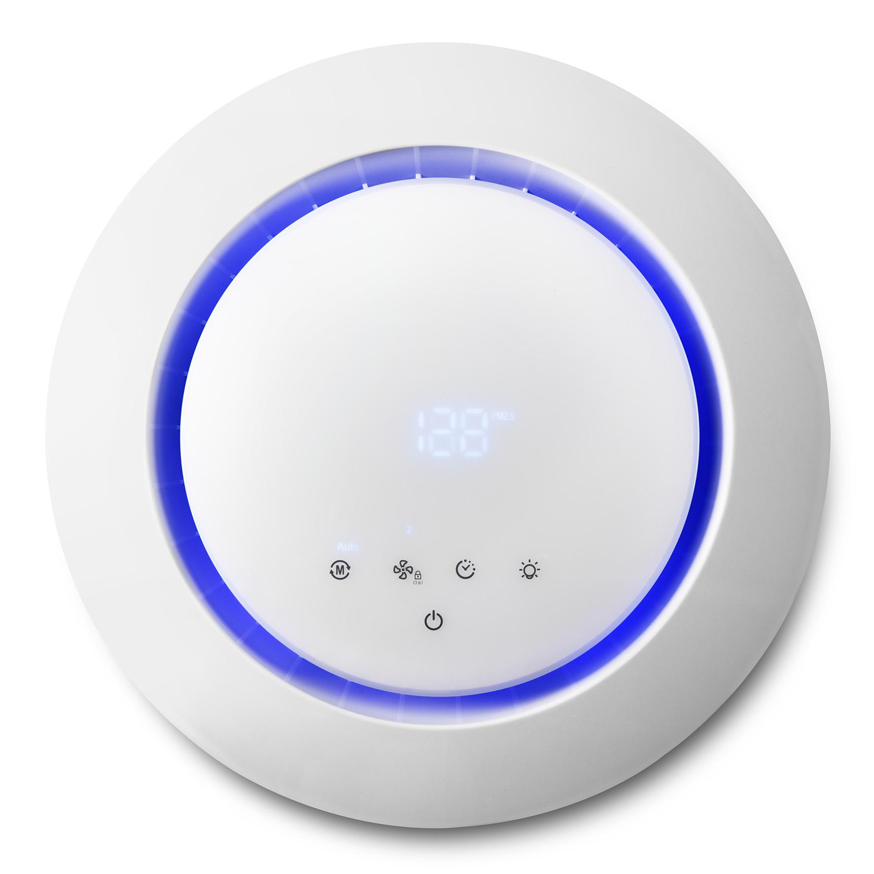 Life+: Medion zeigt Einsteiger-Smarthome mit Alexa-Unterstützung - Luftreiniger von Medion Life+ (Bild: Medion)